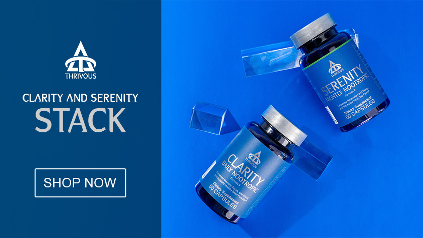 Buy Thrivous Clarity and Serenity Stack